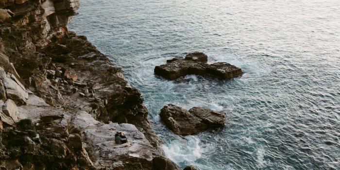 Cliffside Engagement